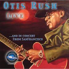 Otis Rush - Otis Rush Live & in Concert from San Francisco [New CD]