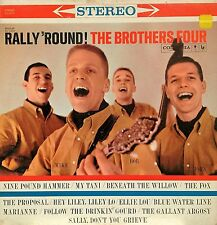 THE BROTHERS FOUR RALLY 'ROUND LP 1960 FOLK EXCELLENT CONDITION! STEREO 6-EYE