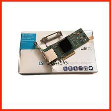 NEW LSI BROADCOM 9200-8E LSI00188 H5-25086-01 H3-25260-02G HBA EXTERNAL SAS SATA