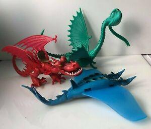 How to train your Dragon Scauldron Hookfang seashocker  job lot (M1)