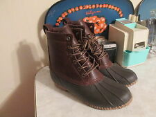 American Eagle Outfitters Duck Boots/Rain Boots Men's Size 12 Pebbled leather