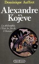 Alexandre Kojève Auffret  Dominique Occasion Livre