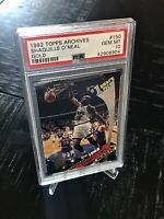 1992 Topps Archives Gold Shaquille O'Neal ROOKIE RC #150 PSA 10 GEM MINT