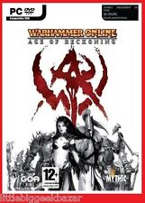 WARHAMMER Online Age of Reckoning français vf Jeu Video PC # NEUF # sous blister