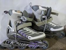 Rollerblades women size 10 with full safety bundle