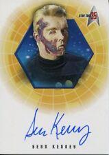 Star Trek 35th Anniversary Holofex Autograph Card A2 Sean Kenney