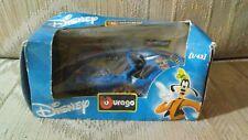 Disney Bburago Goofy 1/43 Die Cast Car Blue Italy Shelby Series 1