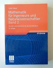 Mathematik für Ingenieure und Naturwissenschaftler 2. Viewegs Fachbücher der Tec