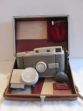 VINTAGE POLAROID 800 LAND CAMERA WITH CASE & INSTRUCTIONS