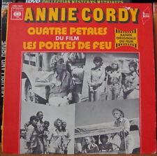ANNIE CORDY/GORAGUER  LES PORTES DE FEU FRENCH SP  CBS 1972