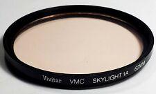 62MM VIVITAR 1A VMC SKYLIGHT Lens PROTECTOR FILTER NEAR MINT
