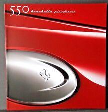 FERRARI 550 barchetta pininfarina - 2000 - Sales Brochure