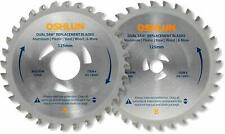 Oshlun DS125G1 Replacement 2 Blade Set for the Original Omni Dual Saw with Tria
