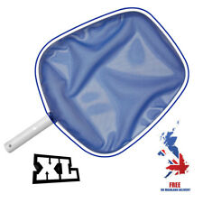 Large L Aluminium Swimming Pool Spa Pond Leaf Surface Skimmer Rake Cleaning Net