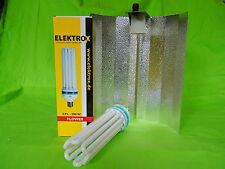 Elektrox Sparset 200 W flower Blüte Energiesparlampe + Reflektor ESL Set 2700K