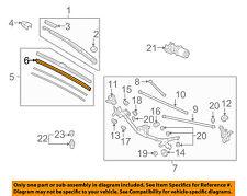 HONDA OEM 06-07 Civic Wiper-Windshield-Wiper Blade Refill Left 76622SNAA01