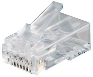 EASY RJ45 PLUG, CAT6 UTP, 100PK, FOR CONNECTIX CAB FOR CONNECTIX CABLING SYSTEMS