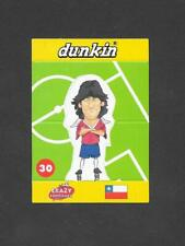 Dunkin Crazy Football 1998 Pop Up card #30 Zamorano of Chile
