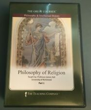 PHILOSOPHY OF RELIGION The Great Courses 6 DVD Set James Hill RICHMOND