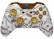 """MONEY TALKS"" Xbox One Custom UN-MODDED Controller Exclusive Design"