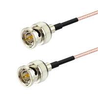 BNC Male to BNC Male RG179 75Ohm Coax Cable 60cm for HD-SDI 3G-SDI Vedio Camera