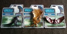 Godzilla King of the monsters action figures set of 3