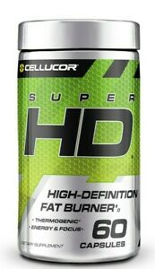 Cellucor SuperHD Ultra Powerful Thermogenic Fat Burner Weight Loss Diet Pills 60