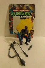 1988 TMNT Teenage Mutant Ninja Turtles Foot Soldier with Card!! Mirage Studios