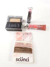 Beauty Surprise Glam Up Staycation kit Foundation Lip Stick Gloss Ponyholder