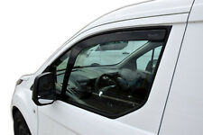 WindowDeflectors visors rain guards Ford Transit Connect 2014-up 2pcs In-Channel