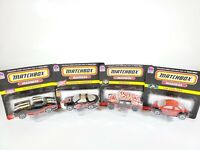 MATCHBOX MADNESS TACO BELL EXCLUSIVE 4 CAR SET NEW NOC 1/64 DIECAST