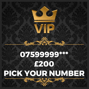 GOLD VIP BUSINESS EASY MEMORABLE EXCLUSIVE PLATINUM MOBILE PHONE NUMBER 99999