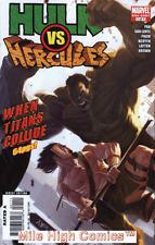 HULK VS. HERCULES: WHEN TITANS COLLIDE (2008 Series) #1 Very Fine Comics Book