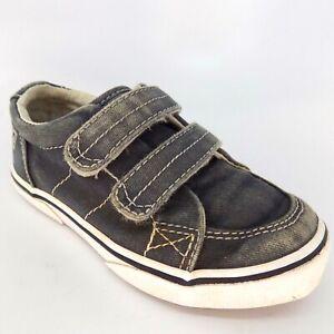 Sperry Top-Sider Halyard H&L Canvas Kids Shoes Size 9 M EU 25 AL5650