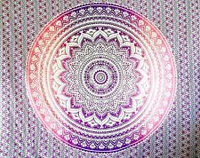 Purple OMBRE WALL HANGING Tapestry Bohemian HOME DECOR Cotton Bedspread