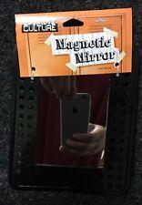 2 Pack Magnetic Locker Mirror 5 1/4 x 6 7/8  Black