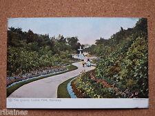 R&L Postcard: Locke Park Barnsley, The Quarry, Flowers/Gardens Edwardian