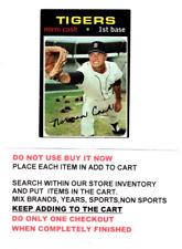 1971 TOPPS BASEBALL #401 TO #600 VG AND VG-EX NO CREASES
