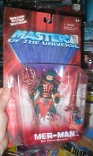 HE MAN AND THE MASTERS OF THE UNIVERSE MER-MAN FIGURE, UNOPENED, FROM MATTEL.