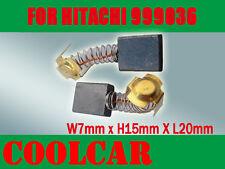 Carbon Brushes For Hitachi 999036 Sander 7X15X20mm