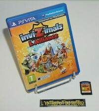 ++ ref 2 / jeu PS VITA invizimals l'alliance ++