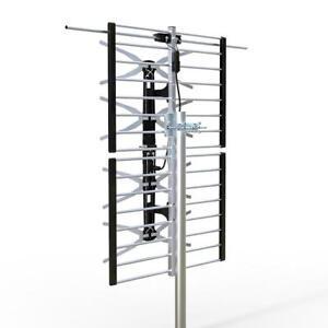 PrimeCables® HDTV 1080p Outdoor HD TV Antenna Digital UHF/VHF FM Radio 65 Miles