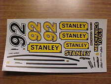 1992 HUT STRICKLIN #92 STANLEY MECHANICS TOOLS 1/24-1/25 SCALE WATER SLIDE DECAL