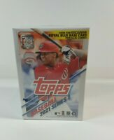 2021 Topps Series 1 Baseball EXCLUSIVE Blaster Box-70th Anniversary PATCH RELIC