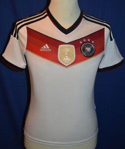 Trikot von Deutschland, Größe 152, Weltmeisterschaft 2014, adidas *Sammlerstück*