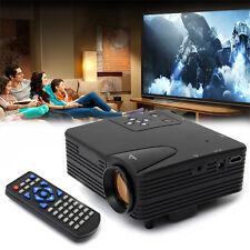 1080P HD Multimedia LED Projector Proyector Home Cinema PC AV TV VGA USB HDMI