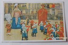 Image CHROMO COTE D'OR Collection FOLKLORE BELGE N°123 - OSTENDE - Les Géants