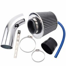 "Air Filter Clean Kits Air Intake Pipe Clamp 3"" 7.6cm Inlet High Flow Short Cold"