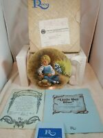 Reco Little Boy Blue Vintage Decorative Collector's Plate 1980 Mother Goose
