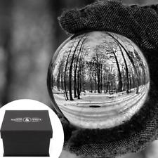 Maison & White 80mm K9 Crystal Lens Ball & Stand